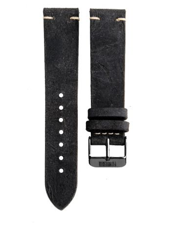 Handmade leather strap made in Italy