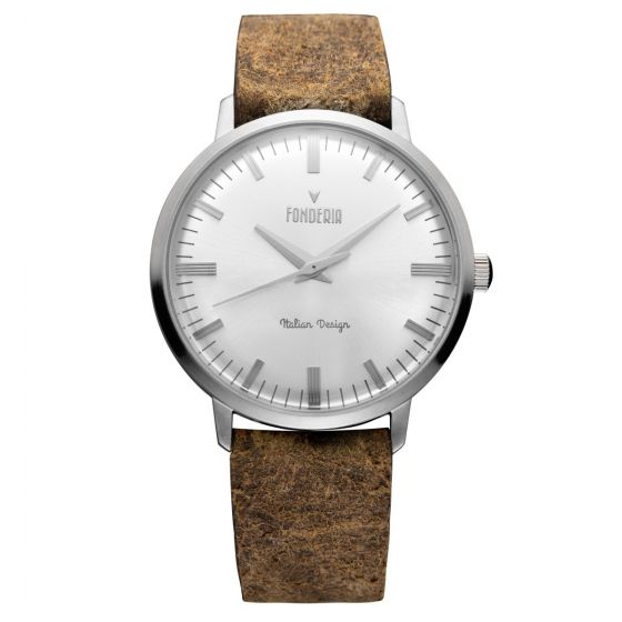 The Professor silver index brown