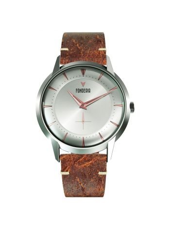 The Professor II small second silver rose gold