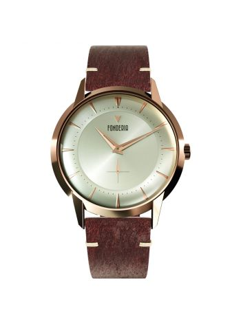 The Professor II small second full rose gold