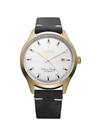 Men's leather watch 2