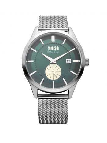 Men's green dial watch 1